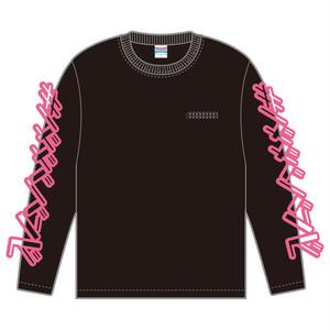 【完売㊗入荷】長袖Tシャツ【BA003】袖ロゴデザイン