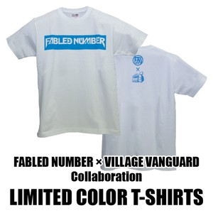 VILLAGE VANGURD コラボ限定カラーロゴTシャツ
