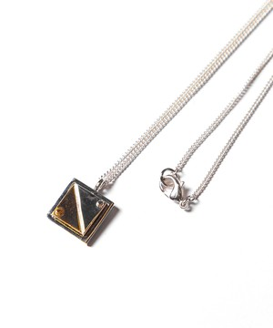 Ayler アイラー / Square Plate necklace / Ay-008
