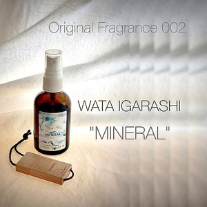 "【限定100セット】Original Fragrance 002 ""WATA IGARASHI:MINERAL"" Aroma Mist 60ml with USB(2曲&アートワーク)付き"