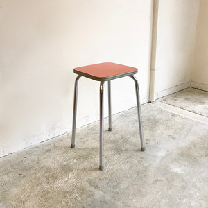 """TAVO"" Style Vintage Kitchen Chair / ORANGE  60's オランダ"