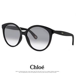 クロエ サングラス CE765S 001 アジアンフィット chloe ce765s 大きめ Lサイズ ビックレンズ ボストン