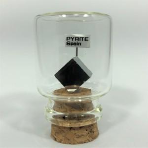 パイライト ペルー産 宝石の森シリーズ ガラスボトルジュエリー bs084