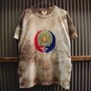 TKHOME FACTORY×GRATEFUL DEAD SYF Mandala×Uneven dyeing T-shirt Large