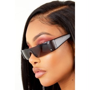 "SORELLA BOUTIQUE ""RESET SUNGLASSES DARK BROWN"""