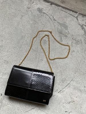 HANAE MORI vintage shoulder bag