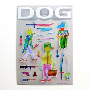 Tai Ogawa / DOG sticker sheet