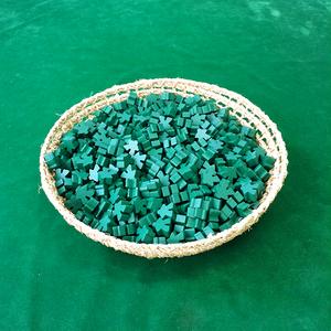 緑 木製 人型駒(約1000個)