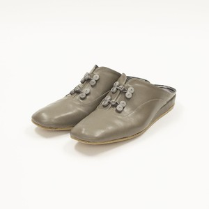 Room Shoes -Gray Beige-