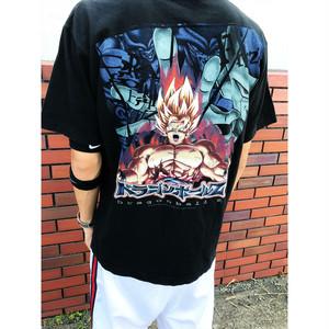2000s 海外輸入 ドラゴンボールプリントTシャツ sizeM 黒/ブラック フリーザ