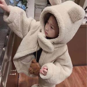子供服 冬 アウター フード付き キッズ 冬コート 中綿 厚手 ジュニア 女の子 ファー ウールコート ジャケット 防寒 コート1538