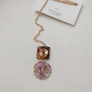 104.Mosaic plat necklace