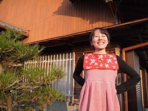 【お茶の間】赤ガールワンピース