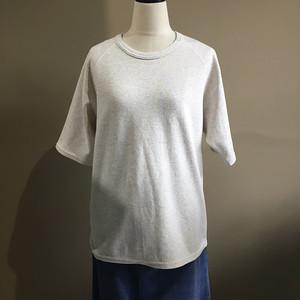 H.R.MARKET ストレッチフライスCNリラックスフィットSS Tシャツ ウイメンズ NATURAL