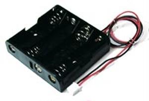 電池ボックスRDP-8093x4P
