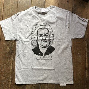 J.C. Bach Tee Shirts, Grey