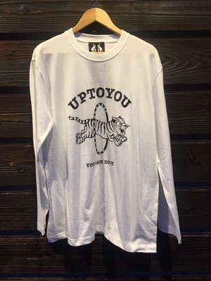 UG.  UP TO YOU L/S  White  Lサイズ