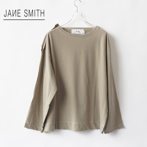 JANE SMITH/ジェーンスミス・Double Layered Long Tee
