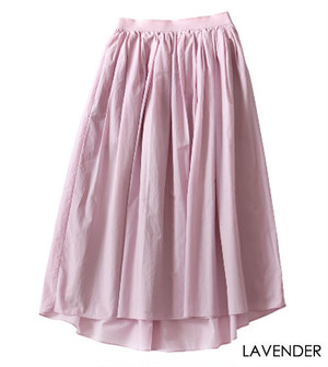 MICA&DEAL long gather skirt