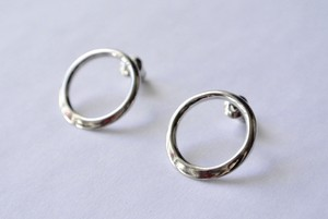 Earrings 'TSU MA MU' (Silver)