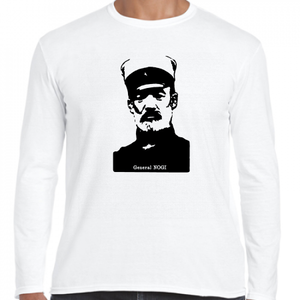 乃木希典 帝國陸軍 大将 軍神 歴史人物ロングTシャツ012