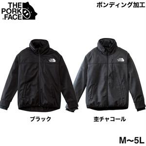 【先行予約】THE PORK FACEボリュームネックジャケット フリース(M〜5L)