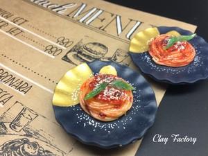 トマトパスタのマグネット