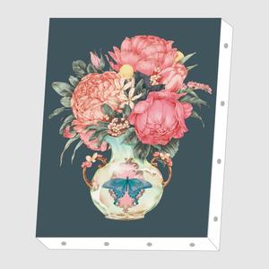 okappalover「花瓶の花」アートキャンバス F0サイズ