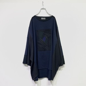Wide-T-shirts PW(navy)