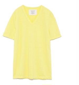 FRAY I.D (フレイアイディー)  VネックウオッシュTシャツ