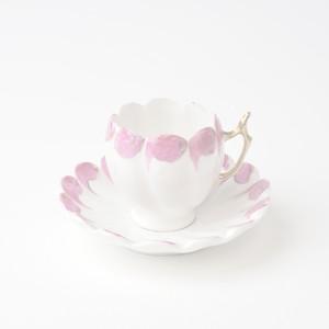 キャビネット(飾り用) ビンテージカップソーサー① 【Unkown】 小サイズ