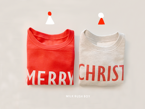 KIDS SWEAT 【merry & christmas!】