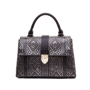 Luxury Leather Handbag Geometric Crossbody Bag Large Bag クラシック レザー クロスボディ ハンドバッグ (AG99-6561813)