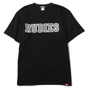 "RUDIE'S / ルーディーズ | "" COLLEGE-T "" - Black"