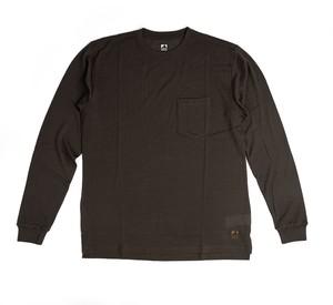 SV Wool Tee Long Sleeve [Roast Brown]