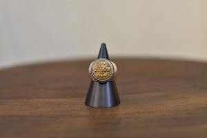 Button Works x Larry Smith CARHARTT Vintage Button Ring ラリースミス ボタンワークス