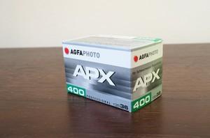 【モノクロネガフィルム 35mm】Agfa(アグファ) APX400 36枚撮り