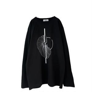 Print-L/S-Tee (black/gp3)