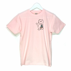 futatsukukuri x chiechihiro collaboration T-shirt 「おつかいコアラ」ブラック x ニンジン