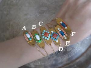 vintage tag bracelet <BL-tgA-F>