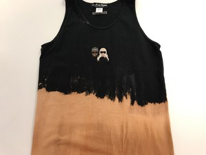 WORLD wide FAMOUS KIMYE風TANK TOP[BLACK]