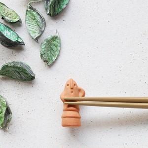 美濃焼の箸置き<古代セット>はにわ/遮光器土偶/ハート土偶/みみずく土偶/ビーナス土偶|イホシロ窯
