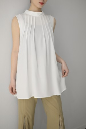 ROOM211 / Tuck blouse (2color)