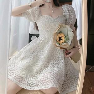 total mini flower dress
