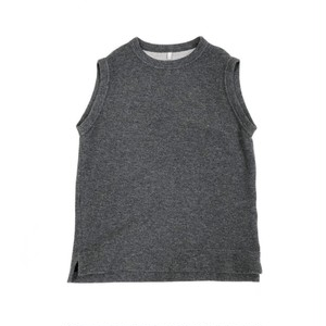 FIRMUM 【フィルマム】 WOOL & COTTON DOUBLE FACE KNIT VEST