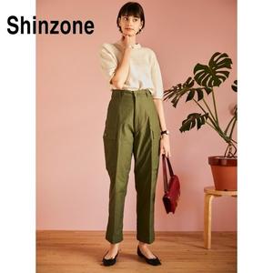 THE SHINZONE/シンゾーン・military cropped