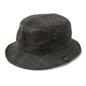 QUOLT / クオルト | WOOL CHECK HAT
