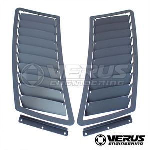 VERUS ENGINEERING(VELOX):A0101A:MUSTANG フードルーバーキットGTタイプ:左右2枚セット