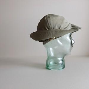 テントな帽子 【Cotton nylon hat】-ripstop  olive gray-