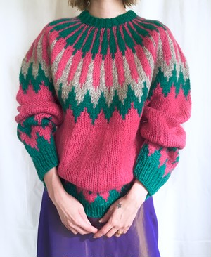 vintage lopi sweater